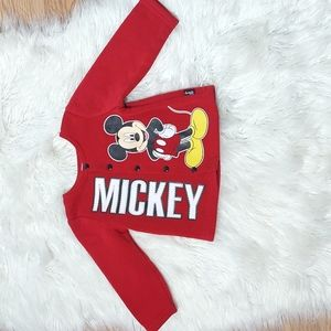 Disney Baby Mickey Mouse Red Jacket